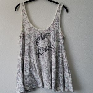 Billabong Floral Au Revoir Tank Top